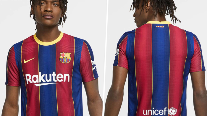 Barcelona home kit 2020-21