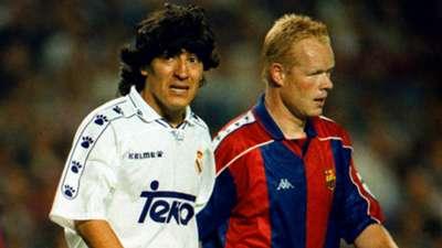 ONLY GERMANY Ivan Zamorano Ronald Koeman Real Madrid Barcelona 1995