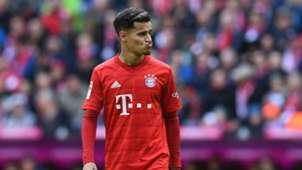 Philippe Coutinho FC Bayern München 1899 Hoffenheim Bundesliga 05102019