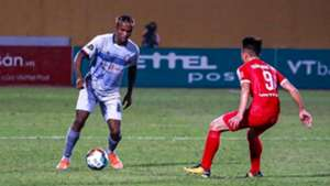 Victor Mansaray Viettel FC vs Ho Chi Minh City Round 14 V.League 2019