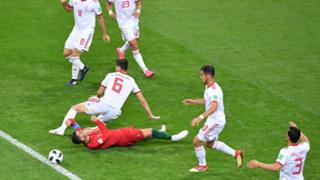 Cristiano Ronaldo Portugal Iran World Cup 2018
