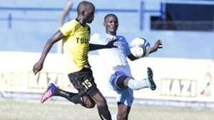 Rodgers Aloro of Tusker and Umaru Kasumba of Sofapaka.