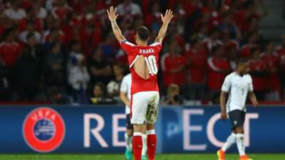 Xhaka France Switzerland Euro 2016