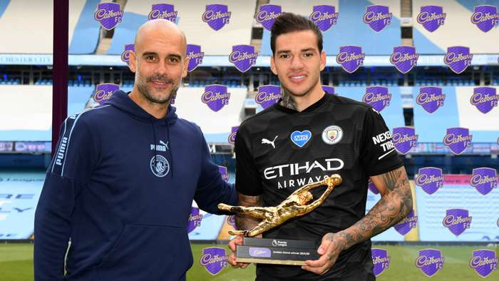 Ederson Pep Guardiola Manchester City