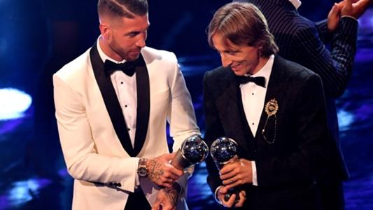 Bericht: Luka Modric und Sergio Ramos trotz schwacher Saison mit Real Madrid in die Weltauswahl gewählt