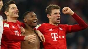 Robert Lewandowski Thomas Muller Bayern Munich vs Borussia Dortmund 2019-20
