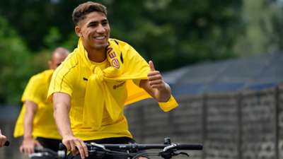 *GER ONLY* Achraf Hakimi BVB Borussia Dortmund