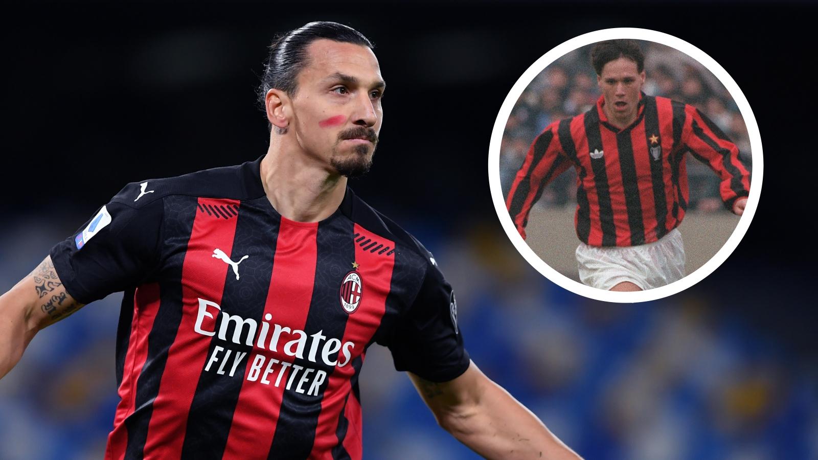 'Ibrahimovic at same level as super champion Van Basten' – AC Milan legend Maldini salutes Swedish striker