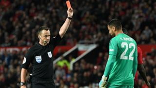Sergio Romero Manchester United Derby County League Cup 2592018