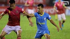 Sài Gòn FC Sanna Khánh Hòa BVN Vòng 19 V.League 2017