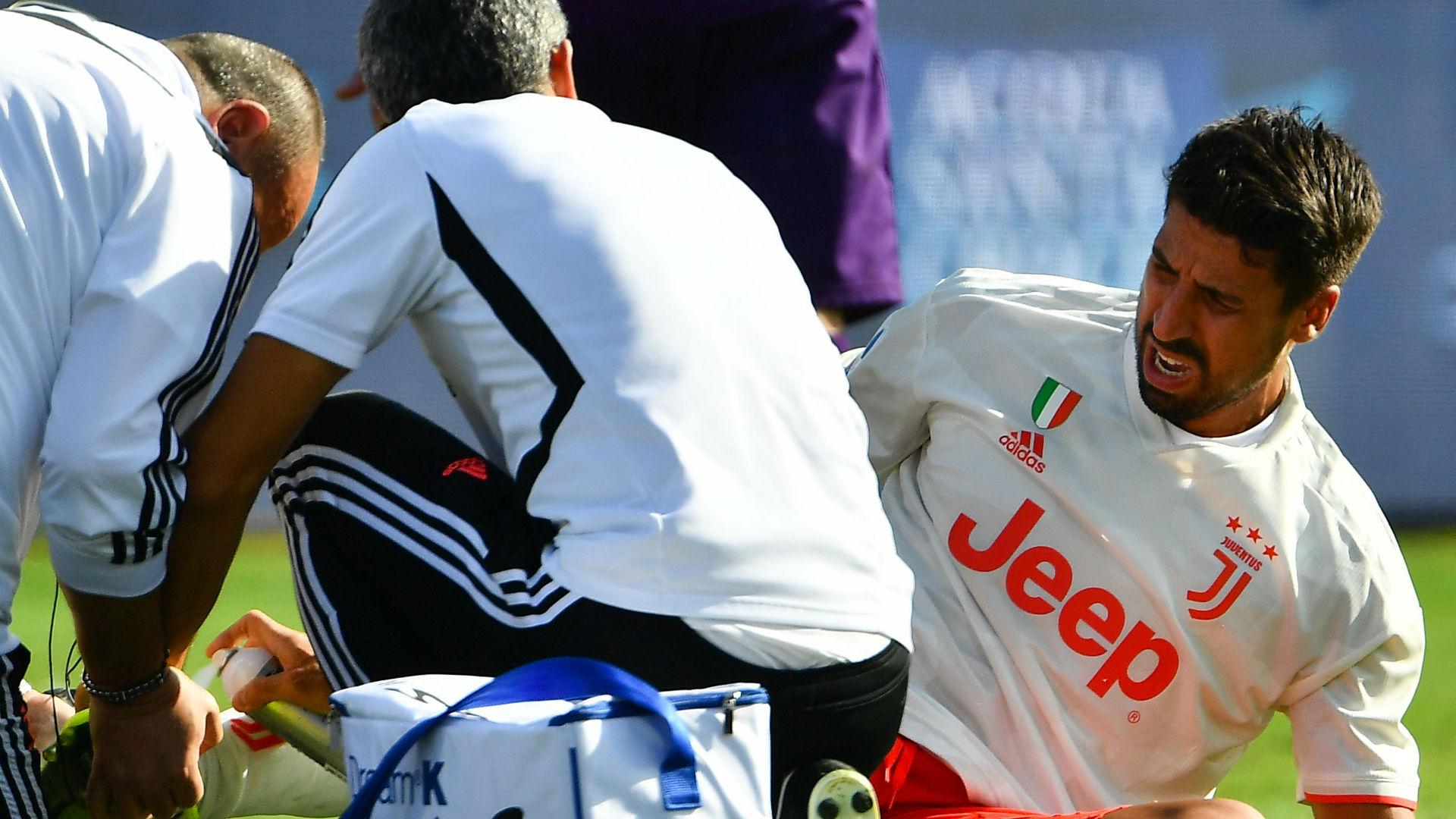 Infortunio Khedira, operazione al ginocchio: ecco quando tornerà