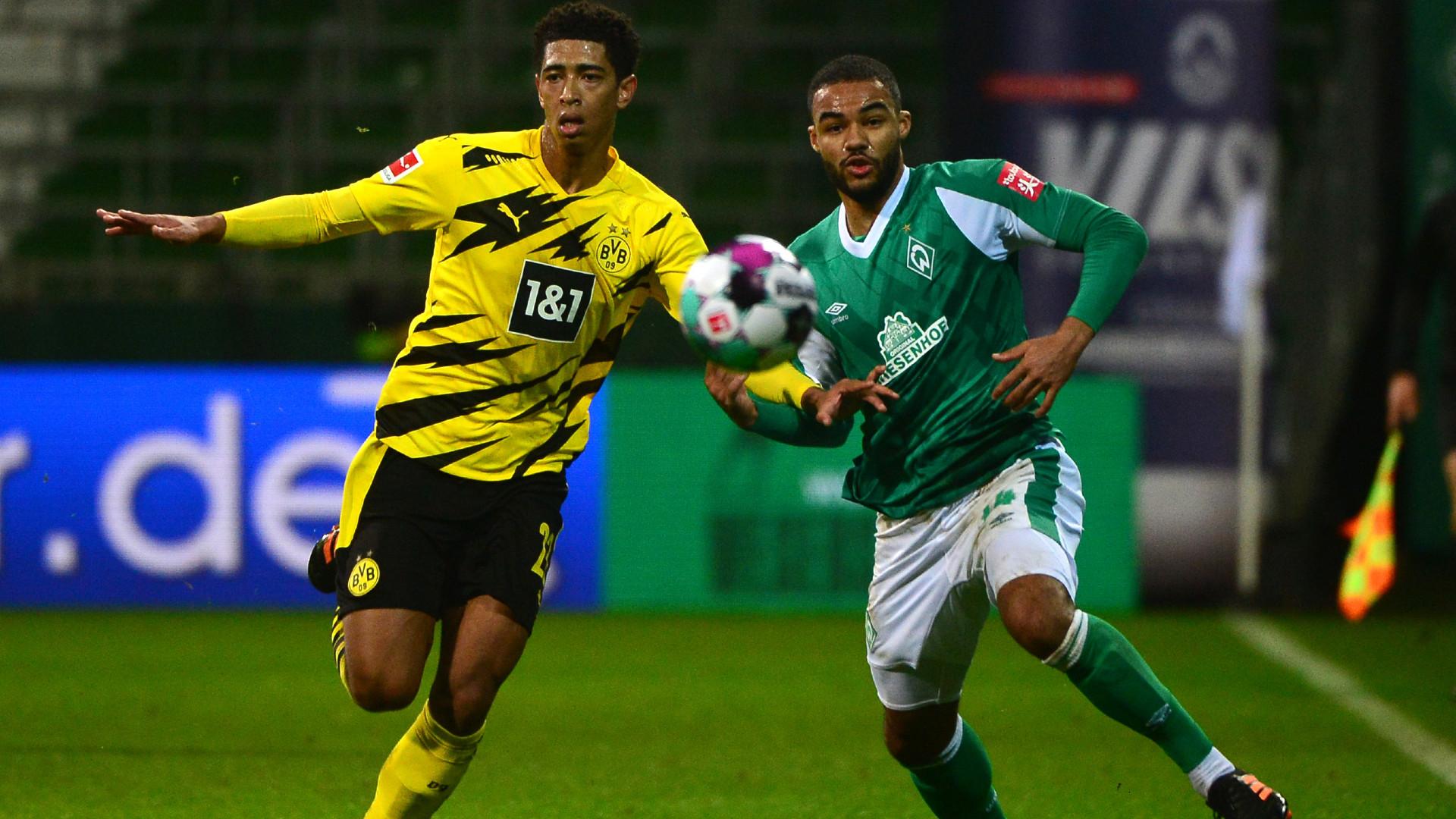 Off Programm Stadionheft BVB Borussia Dortmund v Werder Bremen Bundesliga 19//20