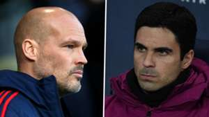 Arteta casts shadow over Ljungberg as Arsenal's potential new manager arrives with Man City