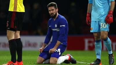 Olivier Giroud Chelsea Watford