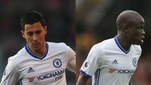 Hazard Kante Chelsea