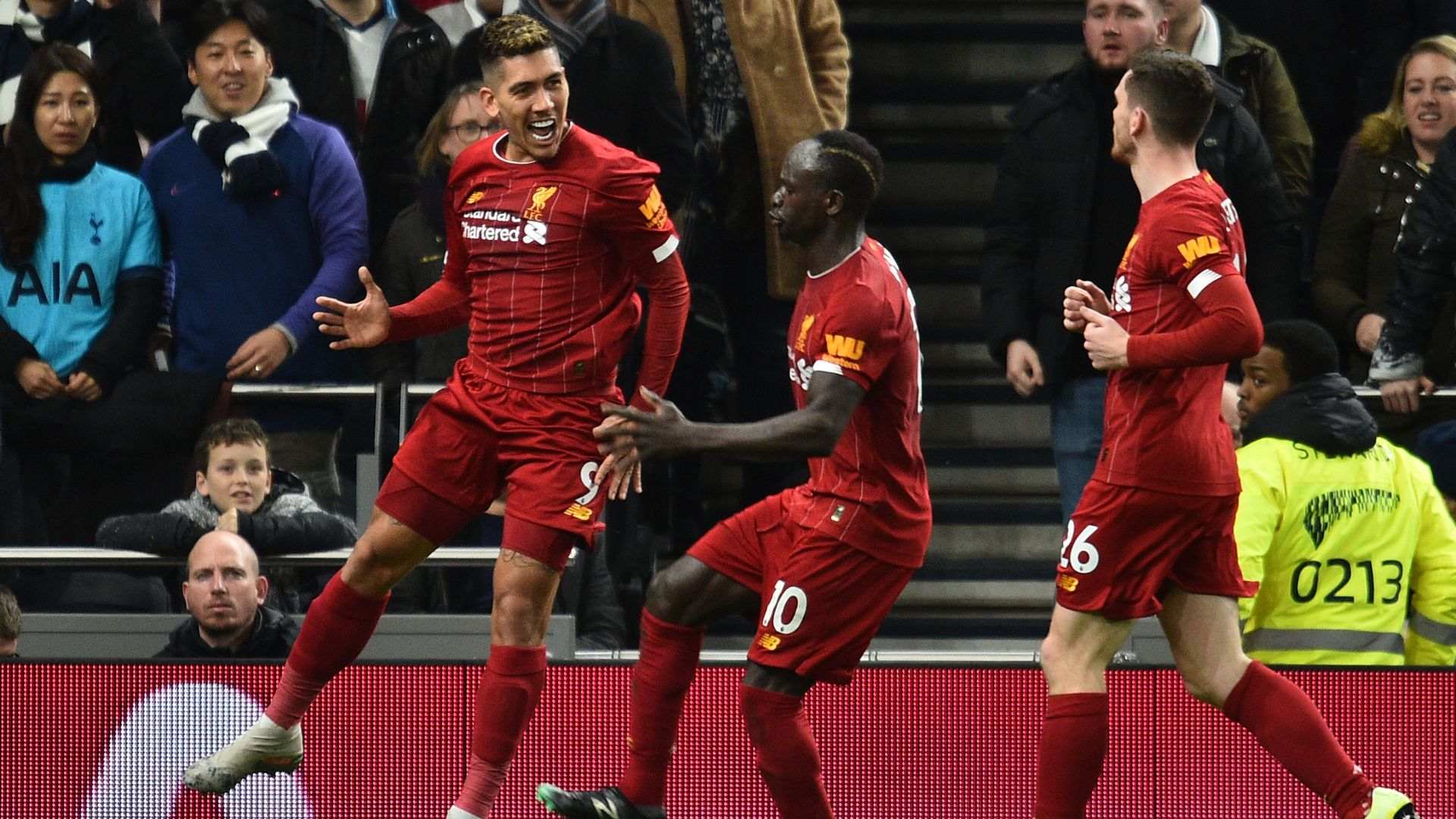 Roberto Firmino Liverpool EPL 01112020