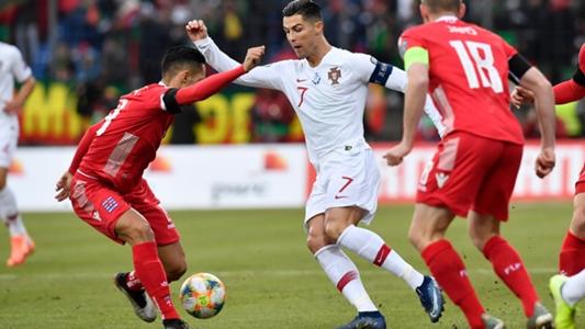 "Cristiano Ronaldo schimpft über den ""Kartoffelacker"" in Luxemburg"