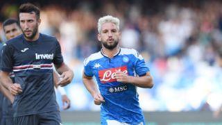 Dries Mertens Napoli Sampdoria Serie A