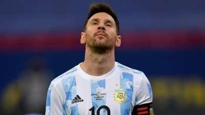 Lionel Messi Argentina Uruguay Fecha 2 Grupo A Copa America 2021