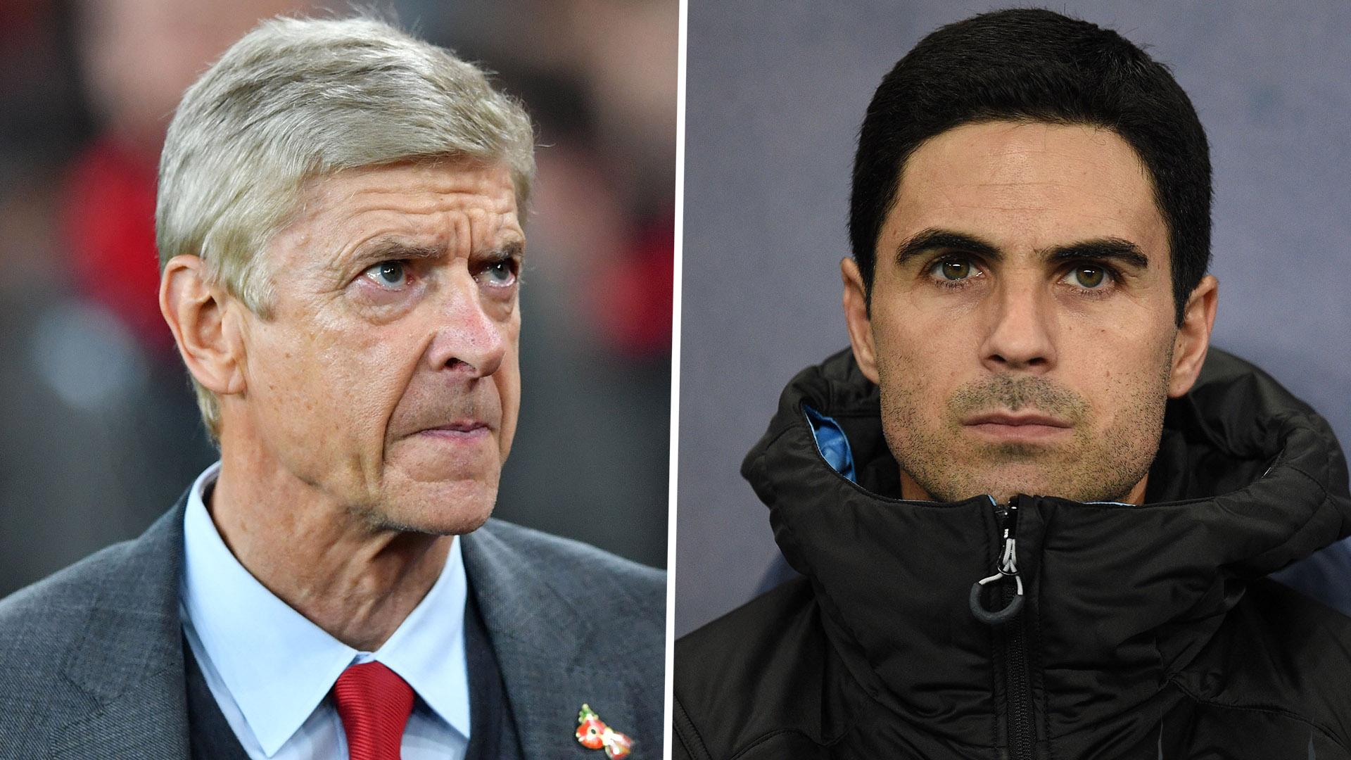Wenger Gives His Verdict On Arteta As Arsenal Manager Goal Com