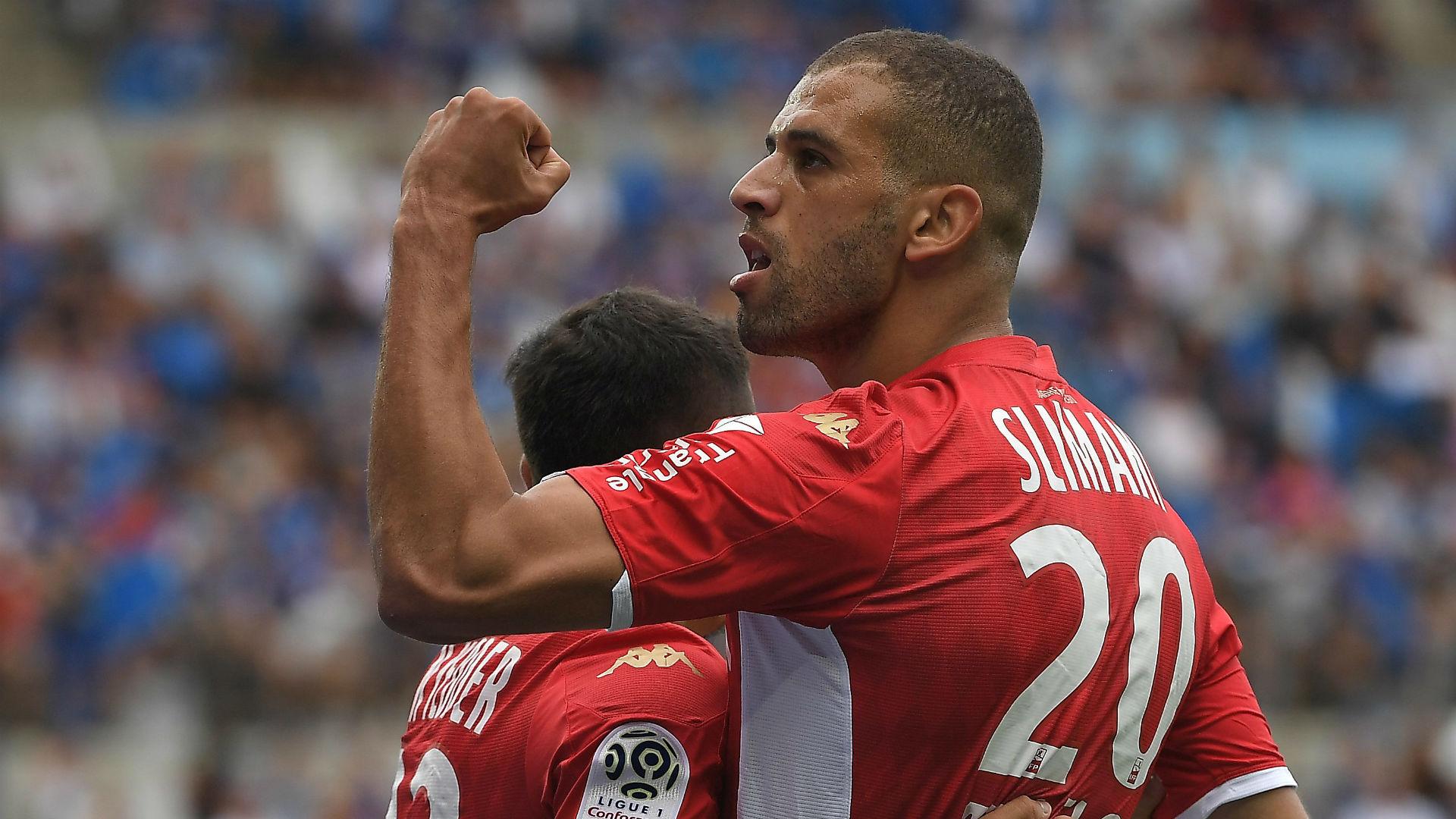 Monaco boss Moreno underlines Slimani's importance after Montpellier display