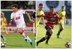 Isaias Adelaide United Nicolas Martinez Western Sydney Wanderers A-League