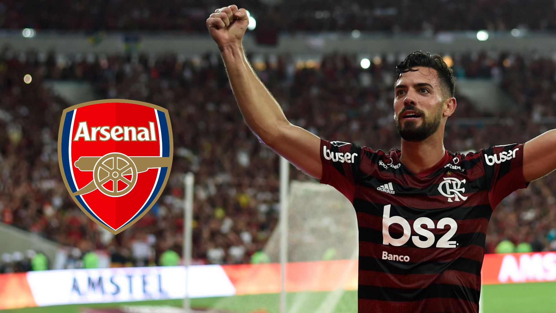 Arsenal are on the verge of signing central defender Pablo Mari from Flamengo