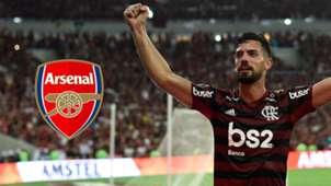 Pablo Mari, Arsenal logo