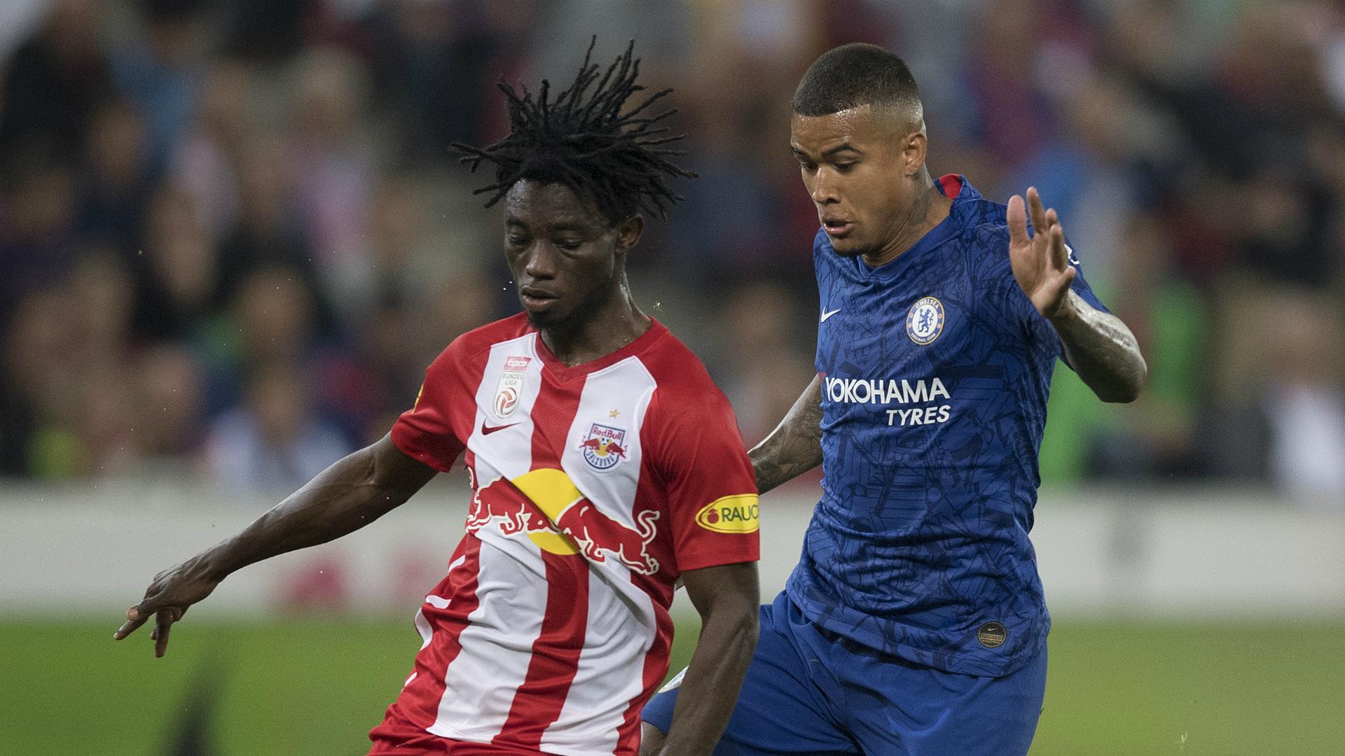 Gideon Mensah: Vitoria Guimaraes seal move for Ghana and Red Bull Salzburg defender