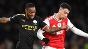 Raheem Sterling, Man City, Gabriel Martinelli, Arsenal