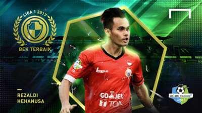 Bek Terbaik Liga 1 2017 - Rezaldi Hehanusa