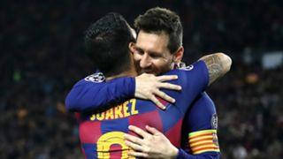 Luis Suarez Lionel Messi 2019-20