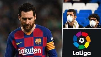 Lionel Messi La Liga Coronavirus