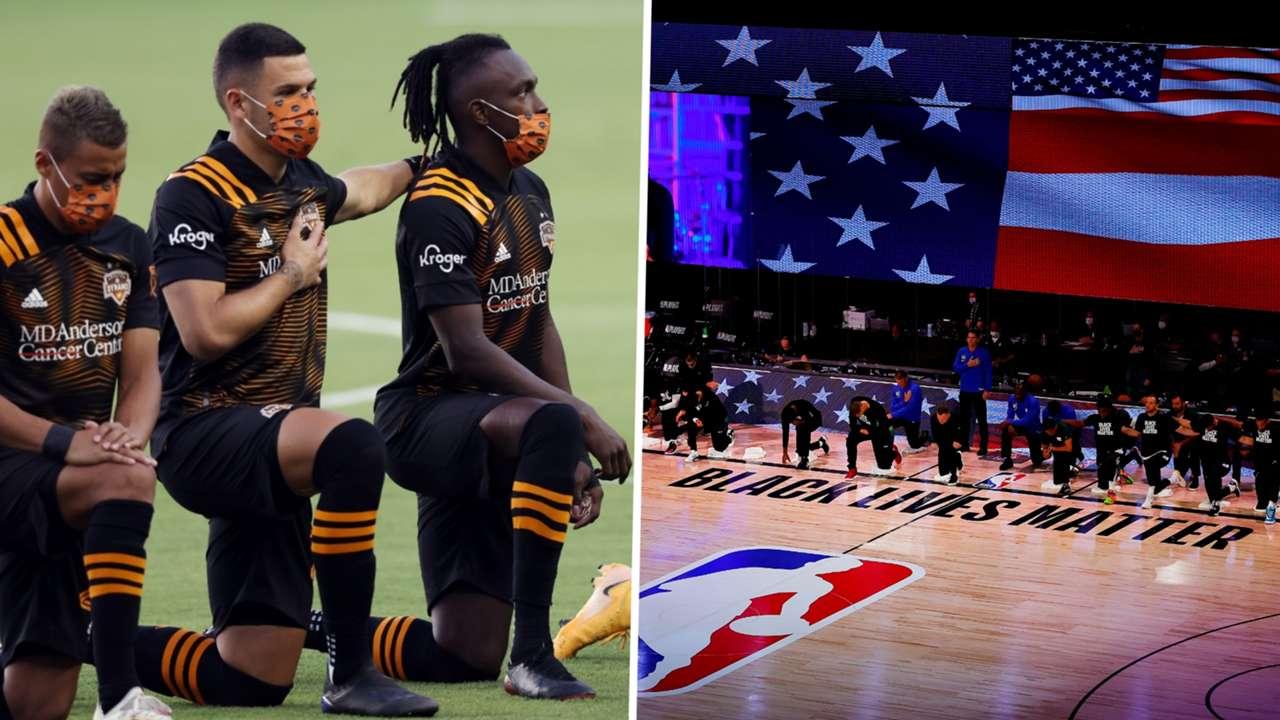 Houston Dynamo vs Sporting Kansas City BLM