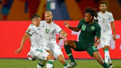 Alex Iwobi, Adlene Guedioura - Algeria vs. Nigeria