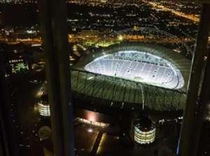 Khalifa Stadium Birds eye