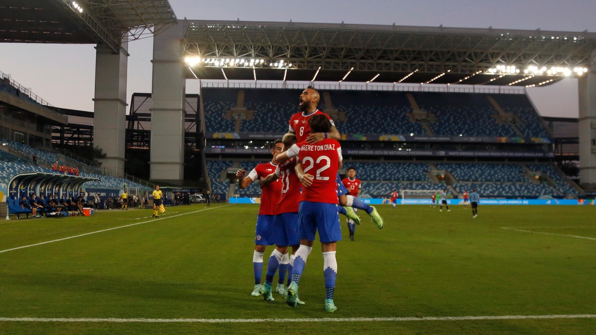 Chile y Uruguay repartieron puntos en el tercer encuentro por Copa América
