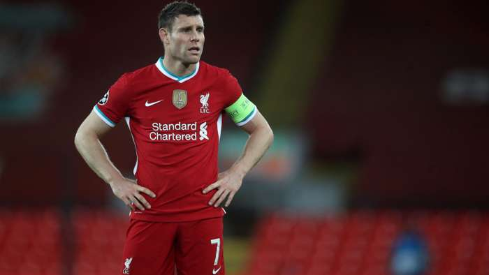 James Milner Liverpool 2020-21