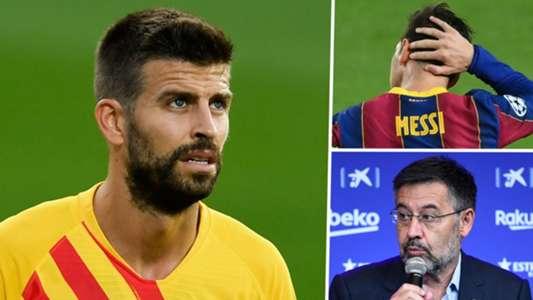 (Tin Barca) Bảo vệ Messi, Pique thẳng thừng chỉ trích ban lãnh đạo
