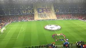 Camp Nou diálogo, respecto y deporte