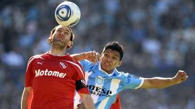 Gabriel Milito Independiente Teofilo Gutierrez Racing 2011