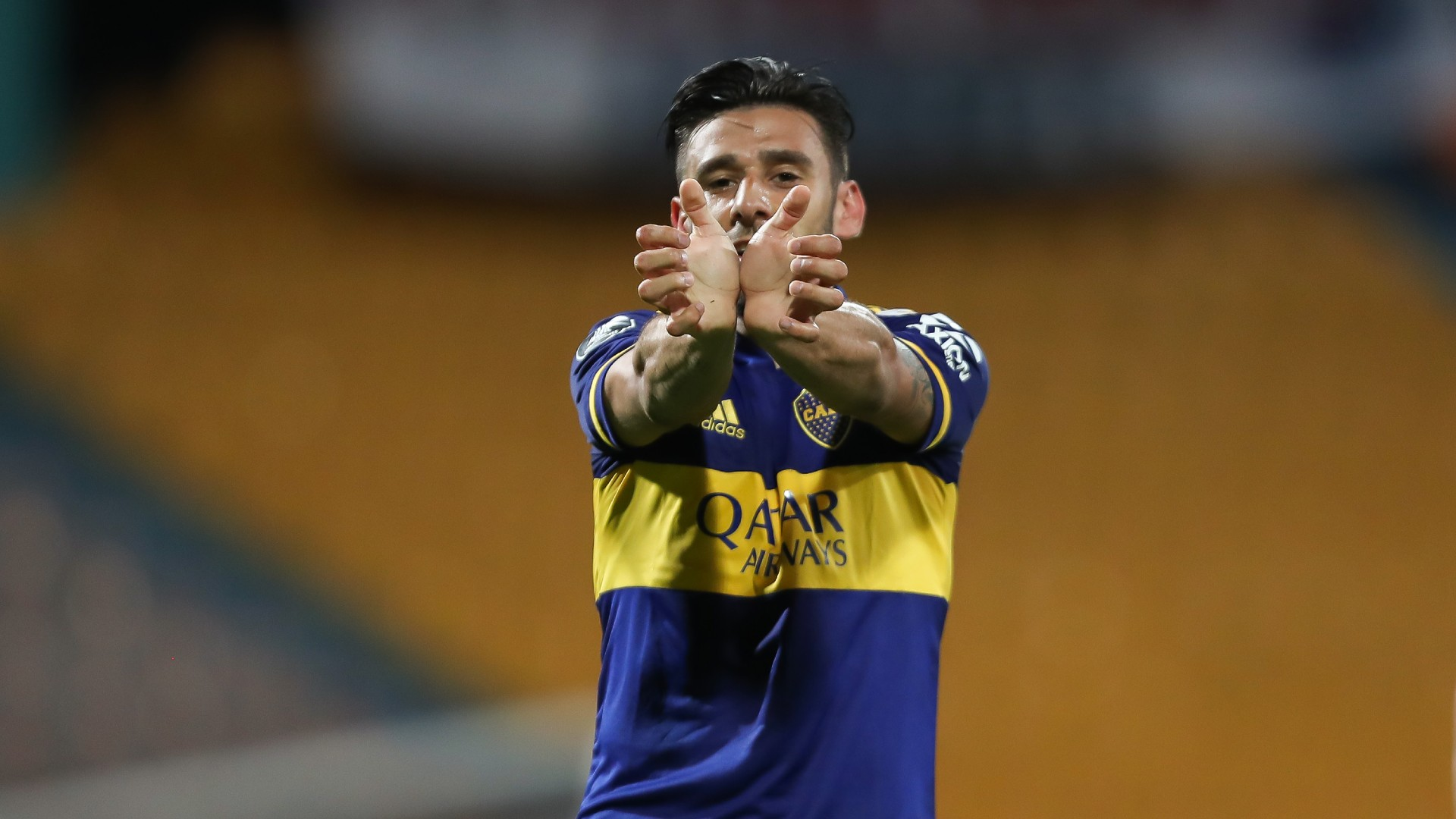 Salvio DIM Boca Fecha 4 Grupo H Copa Libertadores 2020