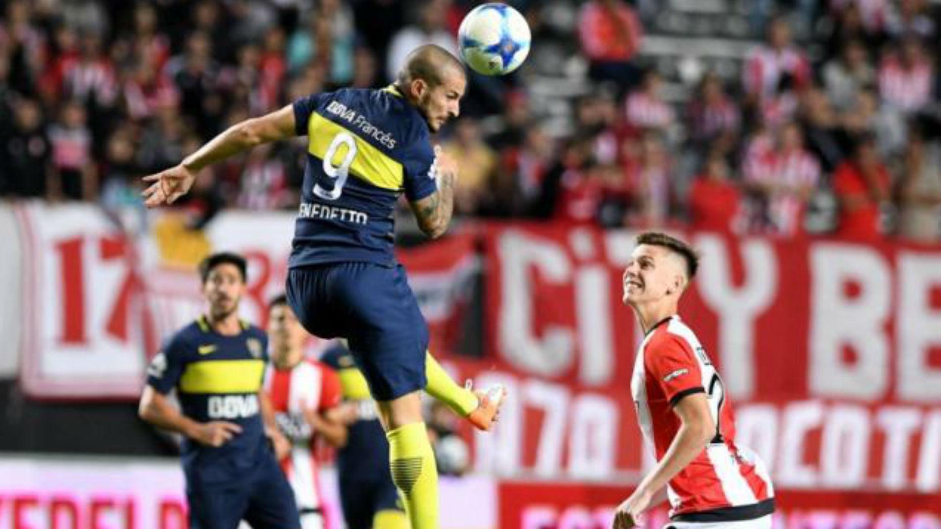 Dario Benedetto Juan Foyth Estudiantes Boca Juniors Primera Division 06052017