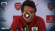 GFX Unai Emery Arsenal