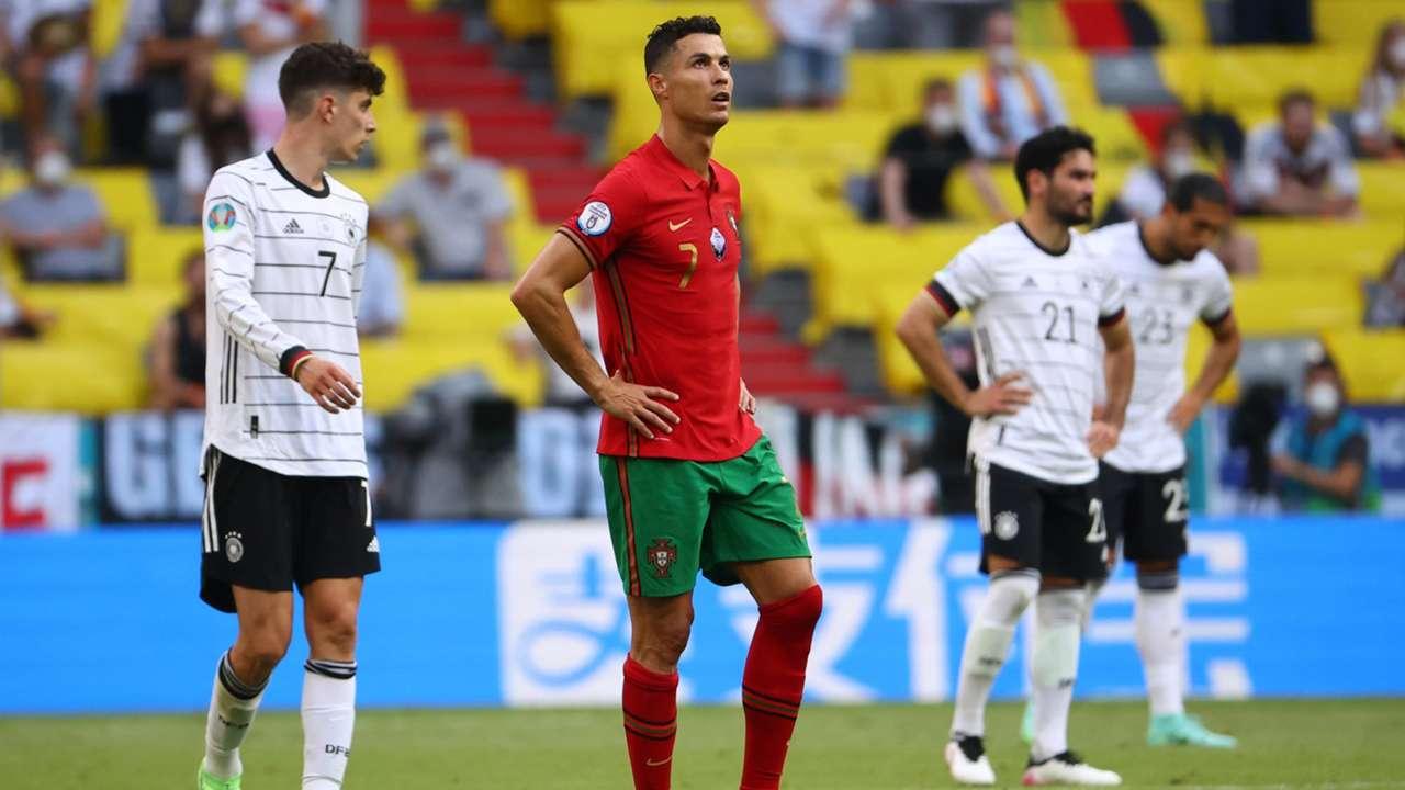Cristiano Ronaldo Portugal Germany Euro 2020