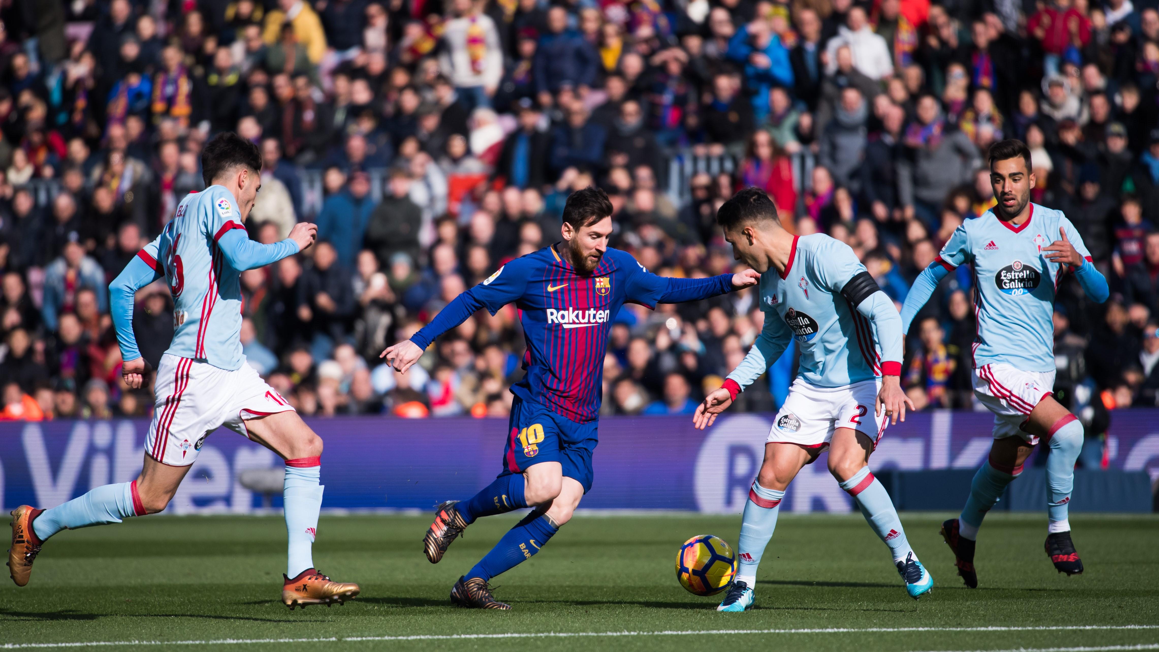 Lionel Messi Barcelona Celta LaLiga 02122017