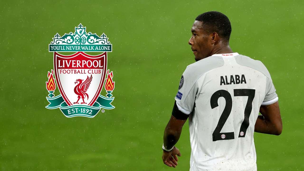David Alaba Liverpool composite 2020