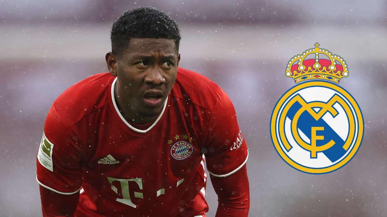 David Alaba Bayern Munich 2020-21 Real Madrid