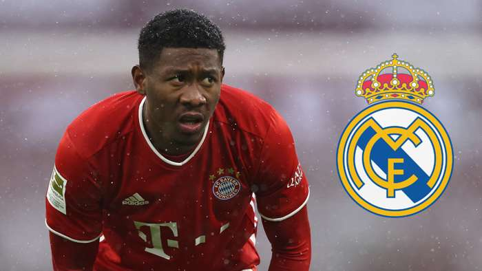David Alaba Bayern Munich 2020-21 Real Madrid