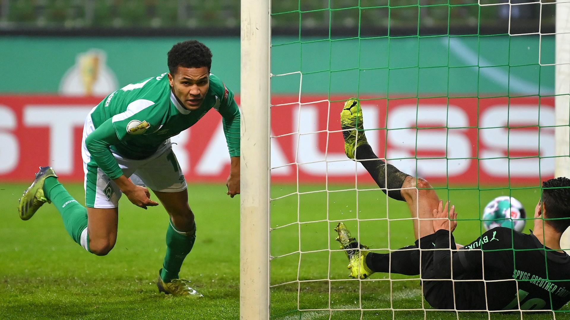 Super-sub Agu seals Werder Bremen victory over Greuther Fuerth